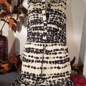 5/48 Dresses - Tie dye  print dress size S/P